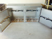 Custom Made Propane Tank Storage Cabinet