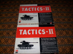 Vintage Avalon Hill Tactics II Realistic War Military Strategy