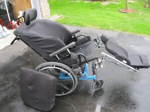 Used extra comfort Wheelchair