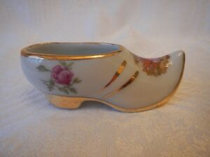 Limoges France Porcelain Miniature Shoe / Slipper