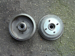 TWO REAR DRUMS, ACDelco Prof fits 2000-08 Ford Focus $100