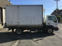 2006 Camion International CF600 Cube 14 pieds Refer