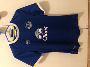 EVERTON WOMEN'S JERSEY- worn once