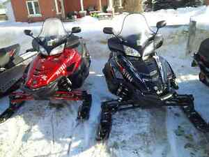 PAIR OF YAMAHA RS VECTOR GT's