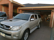 Toyota hilux sr5 4x4 diesel turbo Hadfield Moreland Area Preview