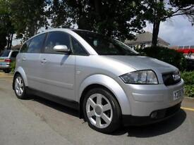 AUDI A2 1.4 SE 2001 COMPLETE WITH M.O.T HPI CLEAR INC WARRANTY