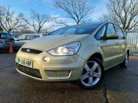 2007 Ford S-MAX 2.0 TDCi Titanium, MOT 16/02/2022, PANORAMIC ROOF, 1 KEEPER FROM