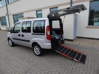 2010 60 Plate Fiat Doblo 1.4 Dynamic Wheelchair Accessible Vehicle Ramp 1 Owner