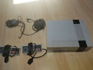 NES with all the hookups 2 controllers 1 game 10 day warranty...
