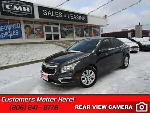2015 Chevrolet Cruze LT w/1LT   CAMERA, POWER GROUP, BLUE TOOTH,