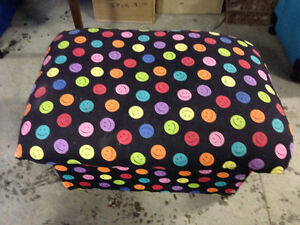 Have cute little footstool to sell