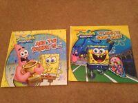 X 2 spongebob books