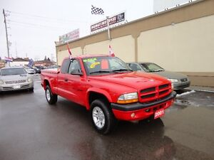 2001 Dodge Dakota Sport Pickup Truck E-TESTED & CERT