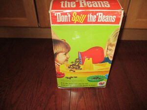 Don't Spill the Beans vintage 1960's game