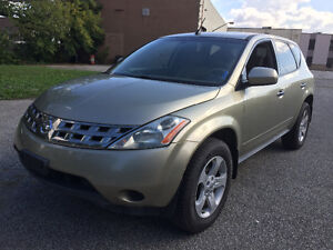 SOLD***2005 Nissan Murano SL SUV, Crossover**145,000 Km**AWD