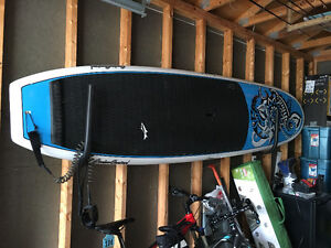 Jimmy Lewis 11'6 Cruise Control SUP and accessories