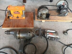 Drill / jig saw / working bench grinders