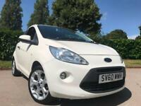 FORD KA 1.2 TITANIUM 2010 *£30 ROAD TAX* BEST SPEC AND BEST COLOUR*