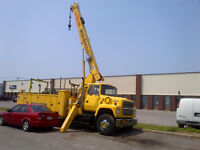 Need to Rent a Crane ? Or Welding High Up