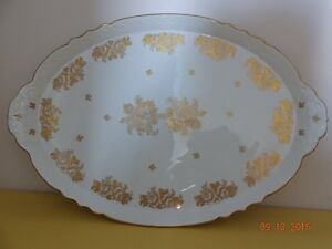 LIMOGES GOLD DECORATED PLATTER Oakville / Halton Region Toronto (GTA) image 1