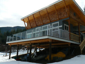 New Family Cabin on Shuswap Lake