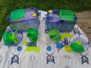 Critter trail hamster cages, $40 for all