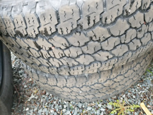 LT275/65R18 Goodyear Wrangler Tires