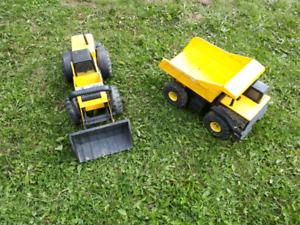 Tonka Truck and Loader