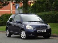 Toyota Yaris 1.0 VVT-i Blue 2004 +8 TOYOTA SERVICE STAMPS +12M MOT +LOW MILES