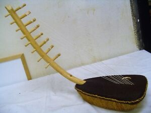 Arched Egypt Harp Musical Instrument