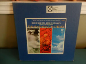Vinyl Records The Sea The Earth The Sky Poetry Box Set 3 LP