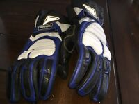 Motorcycle gloves - leather - XL