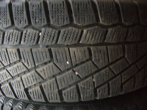 Four winter tires on rims. 185/65 R14  Lots of tread left.