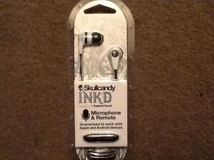 BRAND NEW,UNUSED,UNOPENED Skullcandy Earbuds:Ink'd & 2XL Spoke