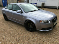 2005 '55' Audi A4 2.0 TDi S Line Modified. Diesel Manual Saloon. Superb. Px Swap