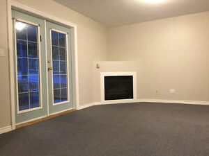 1 bed/1 bath Basement Suite with private entry on East Hill