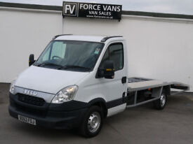 62 IVECO DAILY AUTO 2.3 TD 35S11 LWB RECOVERY TRANSPORTER BREAK DOWN TRUCK VAN