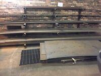 Mild steel flat bar sheet various sizes job lot or separate