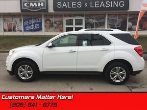 2011 Chevrolet Equinox LTZ   SUNROOF, CAMERA, POWER LIFTGATE, LE