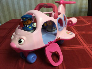 Fisher Price Little People Pink Airplane Windsor Region Ontario image 1