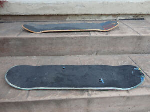 Two well Used but still functional Skateboard Decks $9/both Kitchener / Waterloo Kitchener Area image 2