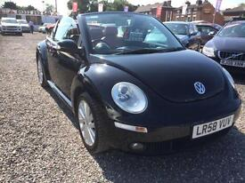 2008 VOLKSWAGEN BEETLE 1.6 Sola FULL RED LEATHER and RED ELECTRIC METAL HOOD
