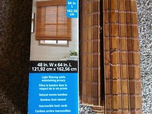 Bamboo Blinds Stratford Kitchener Area image 1