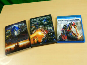Transformers DVD + Blue-ray Collection