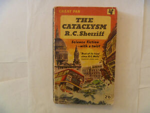 THE CATACLYSM by R.C. Sherriff - 1958 British Paperback