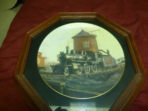 Ted Xaras Limited Edition Rail Collector Plate