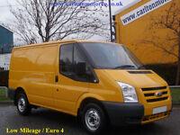 2011/ 11 Ford Transit T260 Swb Low Roof Panel Van Low miles 2.2Tdci FWD