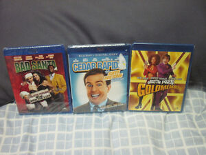 THREE NEW COMEDY BLU-RAY MOVIES SEALED FIRST $10 GETS THEM