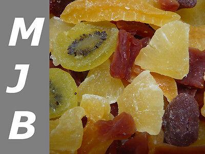1000 g Getrocknete Früchte Mischung Trockenfrüchte gezuckert  1Kg Exotic Mix