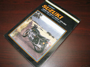 Manuel d'atelier Suzuki GS850 GS1100 1979 - 1984 shop manual